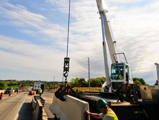 Rear Mount Crane Rental | Full Stack Excavation & Equipment Rental Services